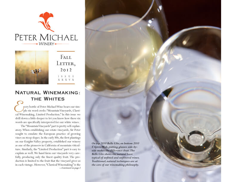 Natural Winemaking: The Whites